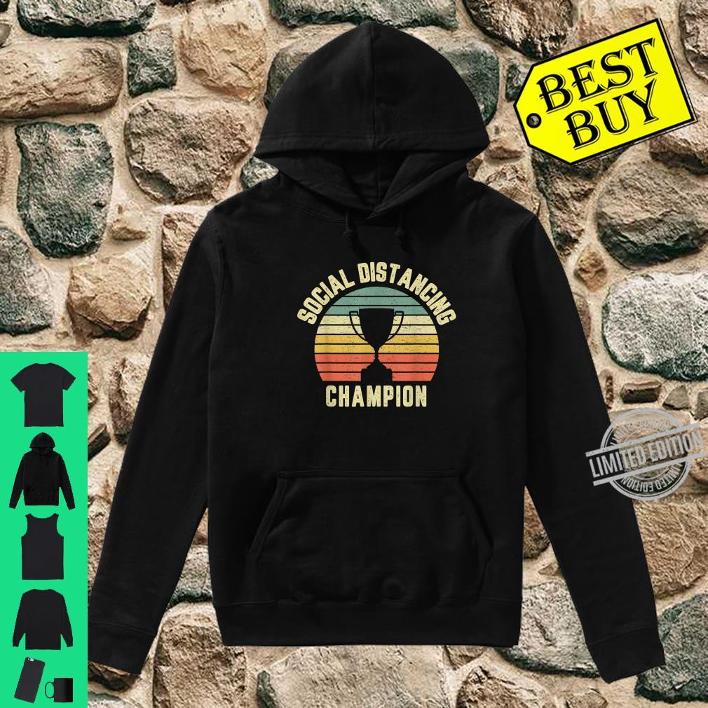 Social Distancing Shirt Introvert Quarantined Virus Shirt hoodie