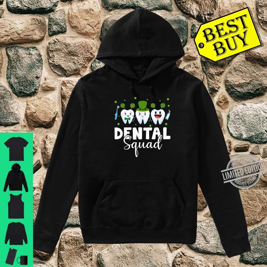 Tooth Leprechaun Hat Dental Squad St Patrick's Day Shirt hoodie