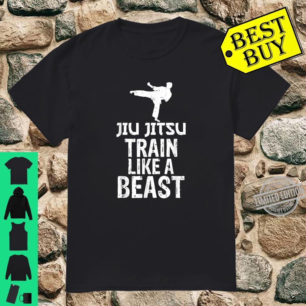 Train Like a Beast BJJ Jiu Jitsu Trainer & Coach Shirt