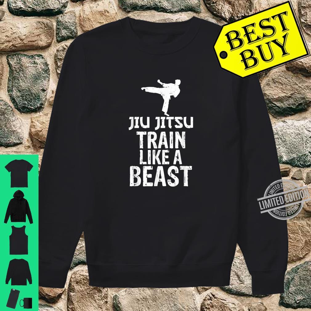 Train Like a Beast BJJ Jiu Jitsu Trainer & Coach Shirt sweater