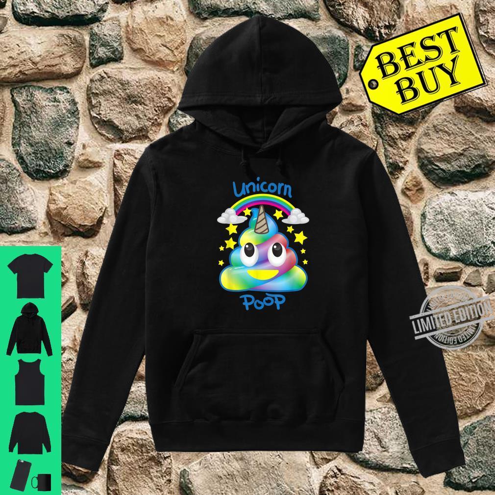 Unicorn Emojis Poop Magical Horse Fans Shirt hoodie