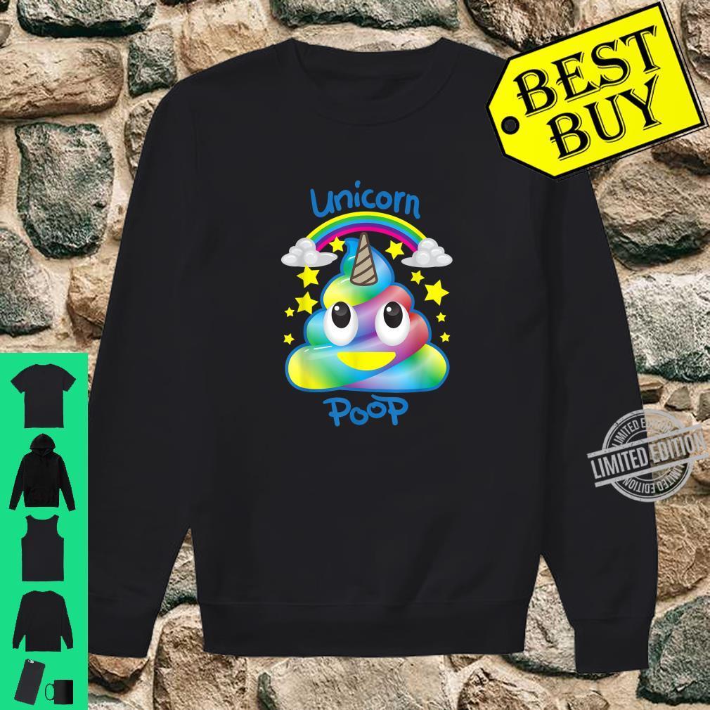 Unicorn Emojis Poop Magical Horse Fans Shirt sweater
