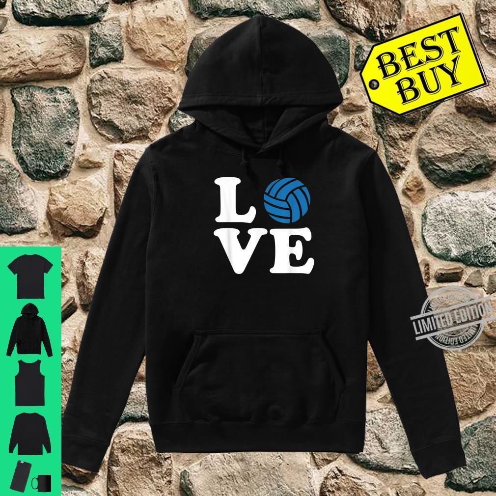 Volleyball love Shirt hoodie
