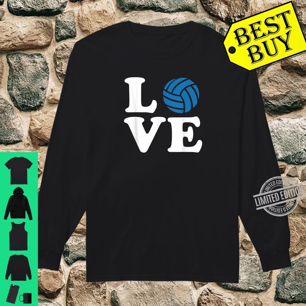 Volleyball love Shirt long sleeved