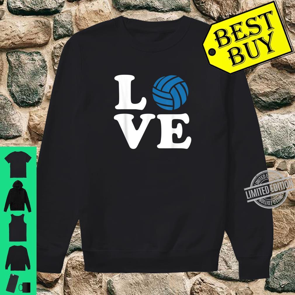Volleyball love Shirt sweater
